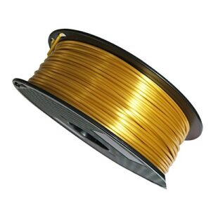 285mm Silk Gold PLA Filament 3D Printer Filament 1KG 22LBS