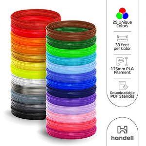 3d Pen Filament Refills PLA filament 175mm 25