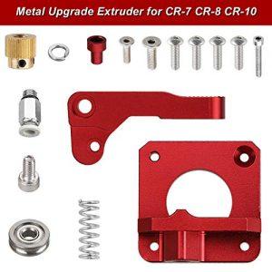Anpro Upgrade 3D Printer Parts of Right MK8 Extruder Aluminum