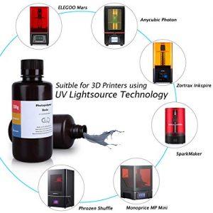 ELEGOO ABS Like 3D Rapid Resin LCD UV Curing Resin 405nm Standard