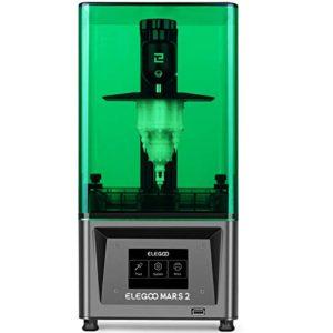 ELEGOO Mars 2 Mono MSLA 3D Printer UV Photocuring LCD