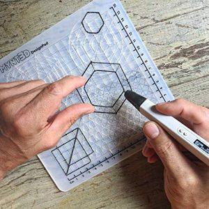MYNT3D MP034 DF 3D Pen Mat Kit DesignPad FreePad