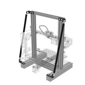 maikou Supporting Rod Set for Ender 3D Printer Upgraded 3D