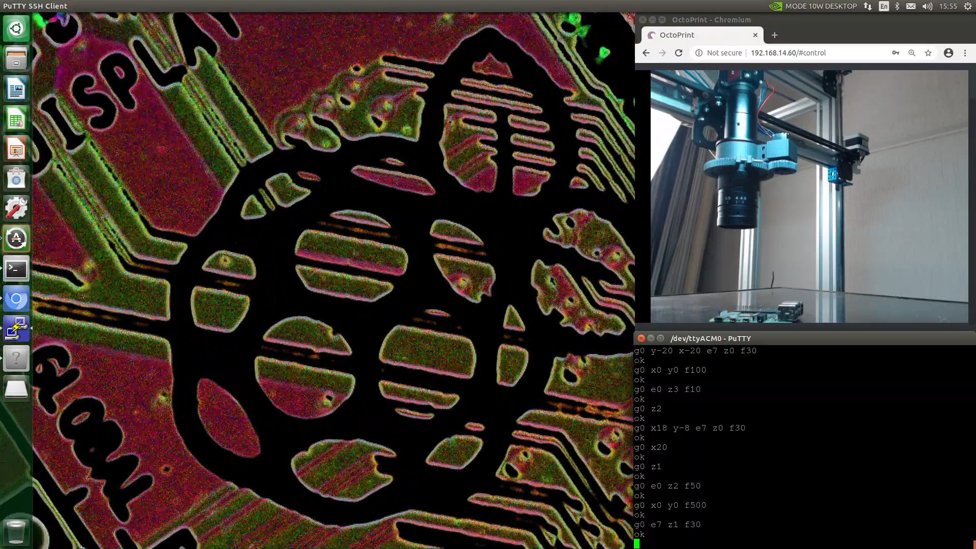 Modified 3D printer is also a great microscope