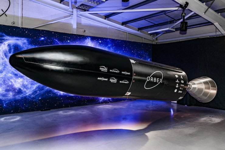 Orbex builds rocket engines using a large custom AMCM 3D printer