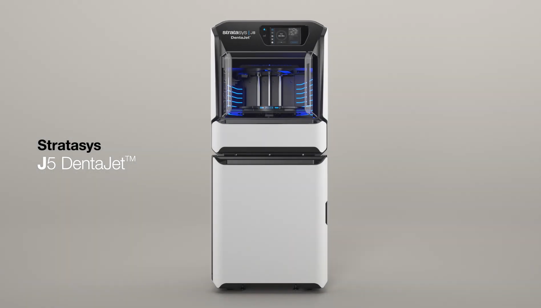 The Stratasys J5 DentaJet 3D printer. Photo via Stratasys.